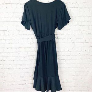 Pinkblush Dresses - NWT Pinkblush - Black Faux Wrap Maternity Dress